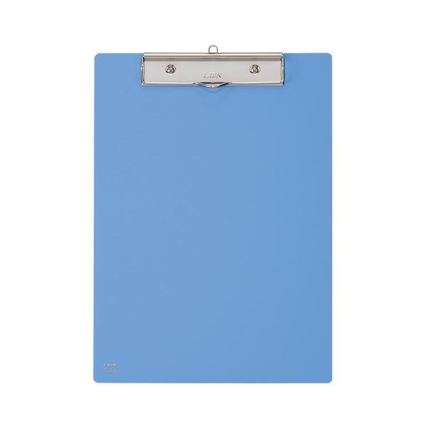 (まとめ) ライオン事務器 PETカラー用箋挟A4タテ ブルー No.220K 1枚 【×30セット】