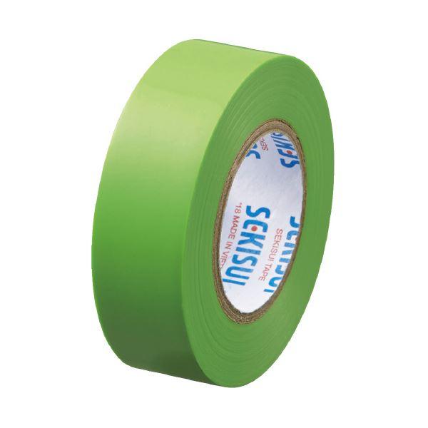 (まとめ)セキスイ エスロンテープ #360 19mm×10m若草V360C1N(×100セット)