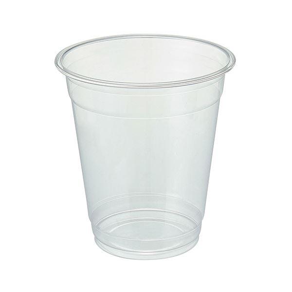 TANOSEE リサイクルPETカップ(広口)420ml(14オンス)1セット(1000個:50個×20パック)