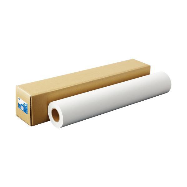 (まとめ)TANOSEEスタンダード・フォト半光沢紙(紙ベース) 42インチロール 1067mm×30m 1本【×3セット】