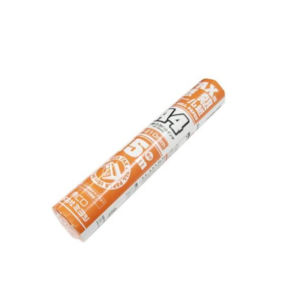ミヨシ(MCO) FAX用感熱ロール紙(A4サイズ/0.5インチ) 15m巻き FXR15AH-1-48P【48本セット】