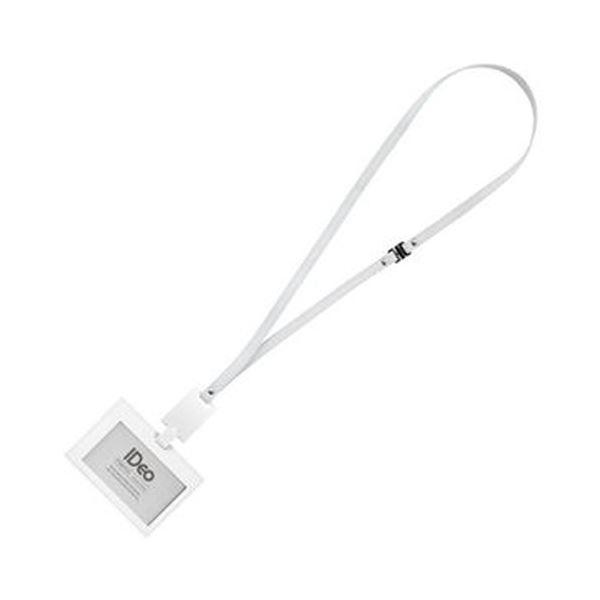 (まとめ)コクヨ ネームカードホルダー(IDeoHUBSTYLE)名刺・IDカード用 ヨコ型 白 NM-RK195W 1個【×3セット】