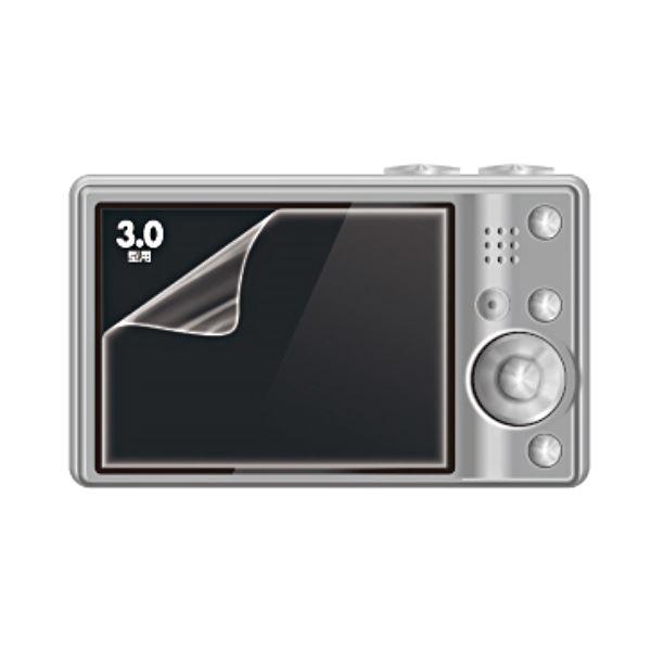 (まとめ) サンワサプライ 液晶保護反射防止フィルム3.0型 DG-LC9 1枚 【×30セット】