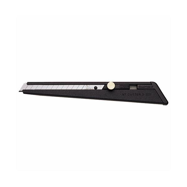 NTカッター A型カッター 黒S-202P 1セット(20本) 【×10セット】