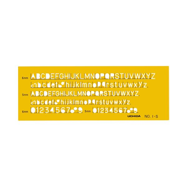 【スーパーSALE限定価格 英字数字定規】(まとめ)内田洋行 英字数字定規 No.1-S 1-843-1011 No.1-S【×30セット】, 石田スポーツ BRIO:4e2588c7 --- shoppingmundooriental.com.br