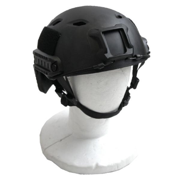 アメリカ空挺部隊FASTヘルメットABSレプリカ ブラック
