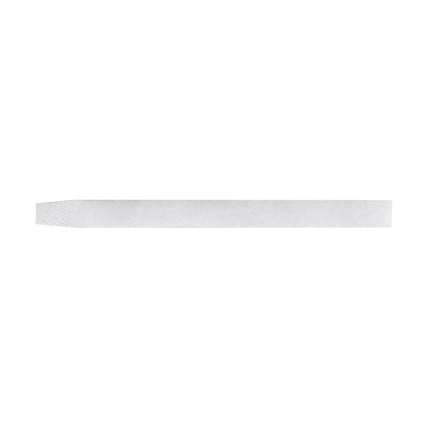 (まとめ) ソニック イベント用リストバンド使い捨てタイプ 白 NF-3567-W 1パック(100本) 【×10セット】