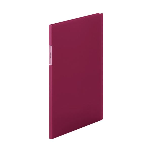 (まとめ) キングジム FAVORITESクリアーファイル(透明) A4タテ 10ポケット 背幅10mm 赤 FV166THアカ 1冊 【×30セット】