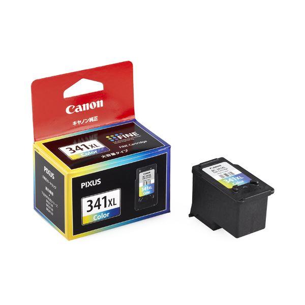 (まとめ) キヤノン Canon FINEカートリッジ BC-341XL 3色一体型 大容量 5214B001 1個 【×10セット】