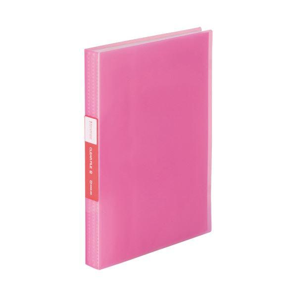 (まとめ) キングジム シンプリーズクリアーファイル(透明) A4タテ 60ポケット 背幅32mm ピンク TH184TSPTP 1冊 【×30セット】