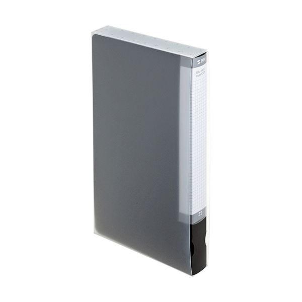 (まとめ) サンワサプライブルーレイディスク対応ファイルケース 32枚収納 ブラック FCD-FLBD32BK 1個 【×10セット】