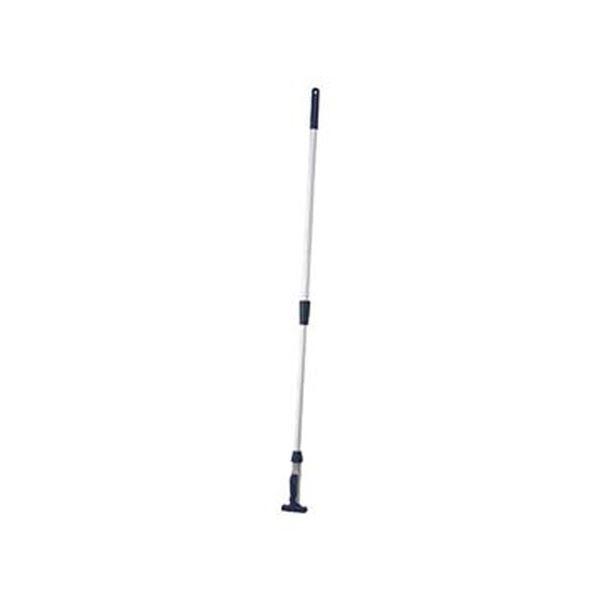 (まとめ)TRUSCO ヘッド交換式ハンドルアルミ伸縮柄 K-HAW 1本【×5セット】
