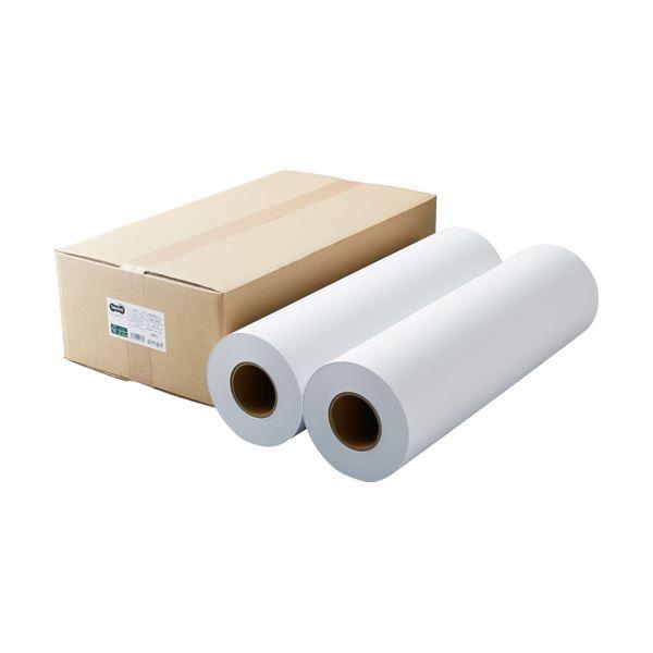 TANOSEEPPC・LEDプロッタ用普通紙 A1ロール 594mm×200m 3インチ紙管 素巻き 1箱(2本)
