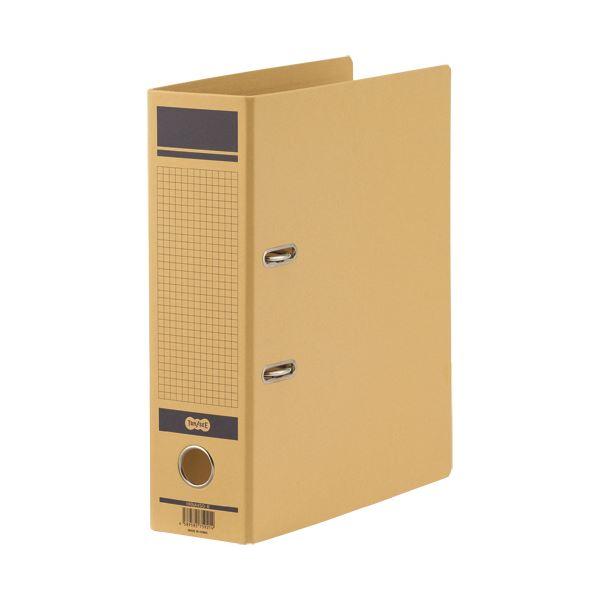 (まとめ)TANOSEE 保存用レバー式アーチファイルN A4タテ 背幅83mm 青 1冊【×10セット】