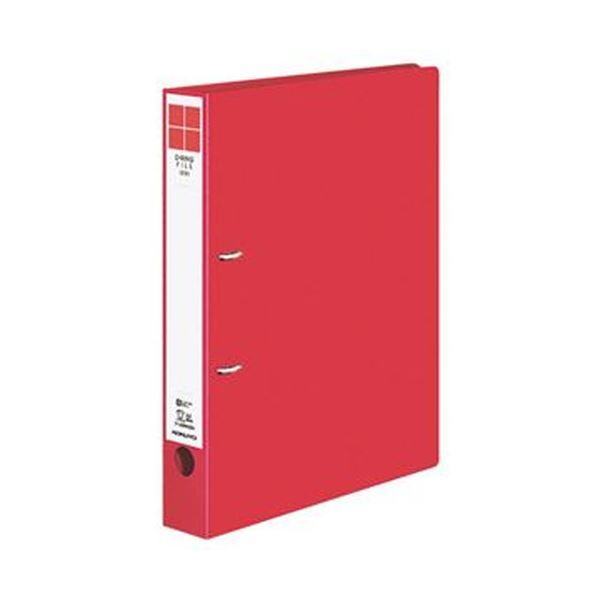 (まとめ)コクヨ Dリングファイル(ER)A4タテ 2穴 300枚収容 背幅45mm 赤 フ-UDR430R 1セット(10冊)【×3セット】
