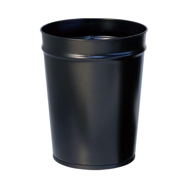 (まとめ) ぶんぶく テーパーバケット大 ブラック OTL-4 13.3L【×5セット】