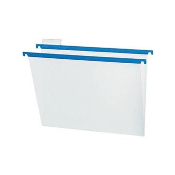 (まとめ)コクヨ ハンギングフォルダーPP(カラー)A4 青 A4-HFPN-B 1セット(10冊)【×5セット】