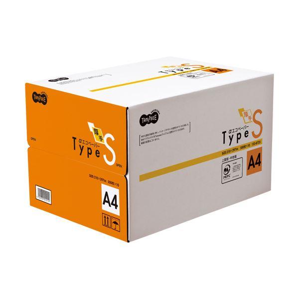 (まとめ)TANOSEE αエコペーパー タイプSA4 1箱(5000枚:500枚×10冊)【×3セット】