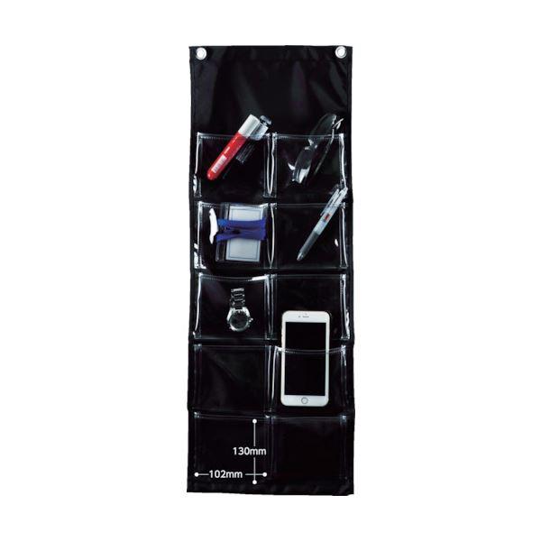 (まとめ) TRUSCO シートポケット中サイズ10ポケット SPM-M10 1枚 【×5セット】