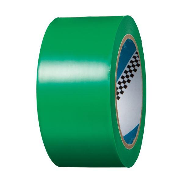 (まとめ) 寺岡製作所 ラインテープ No.340 50mm×20m 緑 No.340ミドリ 1巻 【×5セット】