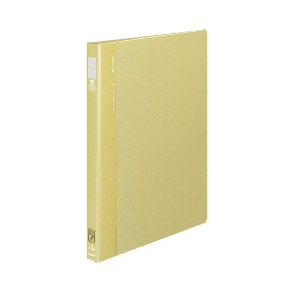(まとめ) コクヨ リングファイル 発泡再生PP表紙A4タテ 30穴 120枚収容 背幅27mm 黄 フ-F460Y 1冊 【×10セット】