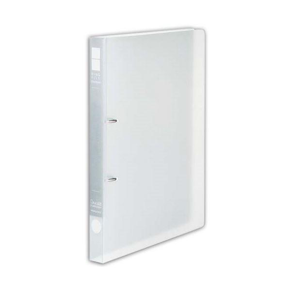 (まとめ) コクヨ リングファイル(スリムスタイル)クリアカラー A4タテ 2穴 180枚収容 背幅27mm 透明 フ-URFC420T 1冊 【×30セット】