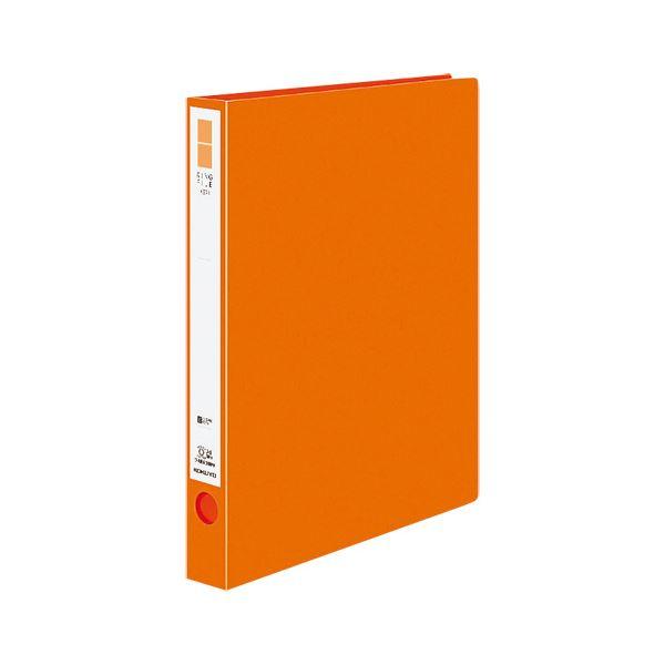 (まとめ)コクヨ リングファイル(ER・PP表紙)A4タテ 2穴 220枚収容 背幅39mm オレンジ フ-UR430NYR 1冊 【×20セット】