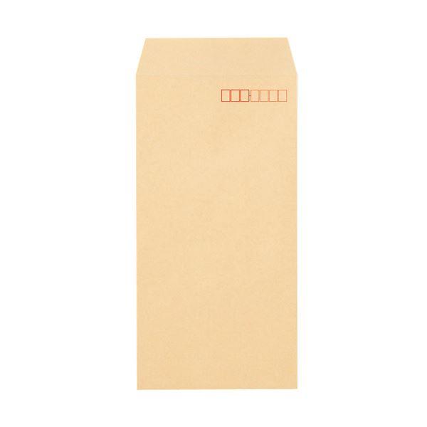 (まとめ) TANOSEE クラフト封筒 テープ付長3 70g/m2 〒枠あり 1パック(100枚) 【×30セット】