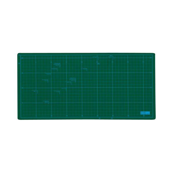 (まとめ) TANOSEE カッターマット A4ワイド 225×450mm 1枚 【×10セット】