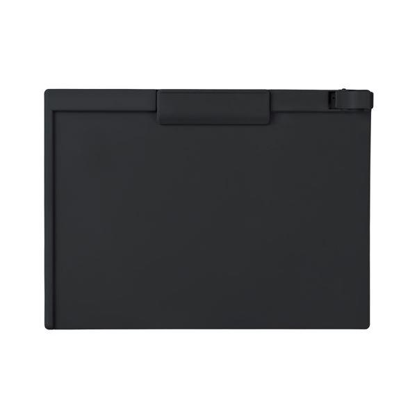 (まとめ) セキセイ クリップボード A4ヨコ SSS-3057P-60ブラック 1枚 【×30セット】