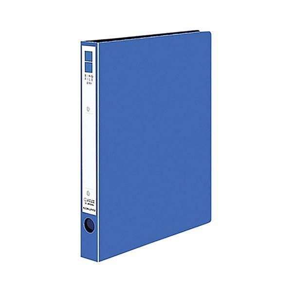 (まとめ)コクヨ リングファイル(ER・PP表紙)A4タテ 2穴 220枚収容 背幅39mm 青 フ-UR430NB 1冊 【×20セット】