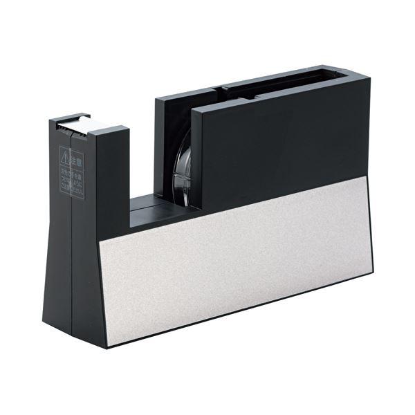 (まとめ) ニチバン テープカッター直線美 大巻用 黒 TC-CB6 1台 【×5セット】