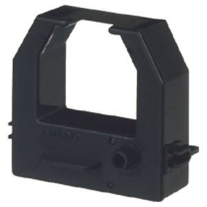 (まとめ) アマノ タイムレコーダー用インクリボンカセット 黒 CE319250 1個 【×5セット】
