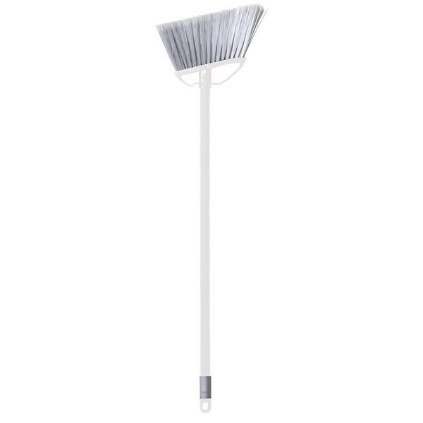 (まとめ) 床用ほうき/フロアブラシ 【ショートタイプ ホワイト】 掃除用品 『ka:z clean』 【60個セット】