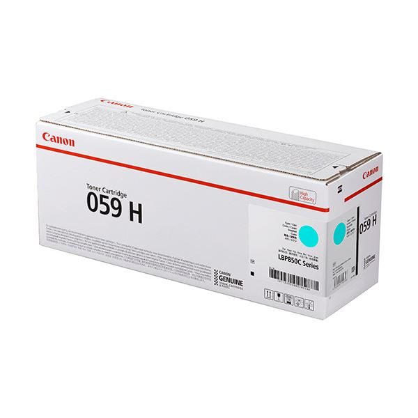 キヤノン トナーカートリッジ 059HCRG-059HCYN シアン 大容量 3626C001 1個