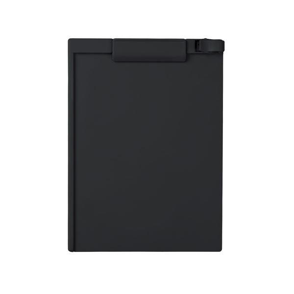 (まとめ) セキセイ クリップボード A4タテ SSS-3056P-60ブラック 1枚 【×30セット】