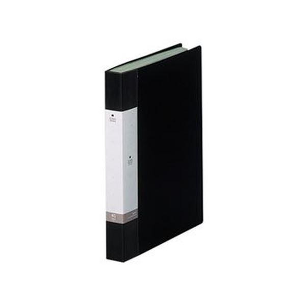 40ポケット 黒 リクエスト G3202-24 (まとめ)リヒトラブ 背幅32mm 1セット(10冊)【×3セット】 クリヤーブックA4タテ