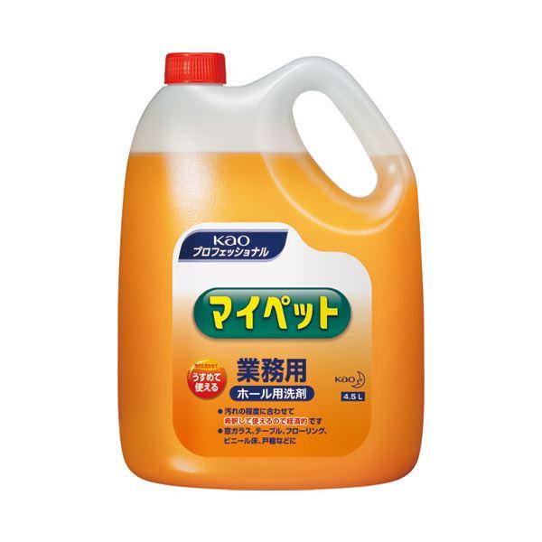 (まとめ) 花王 マイペット 4.5L 業務用505613【×5セット】