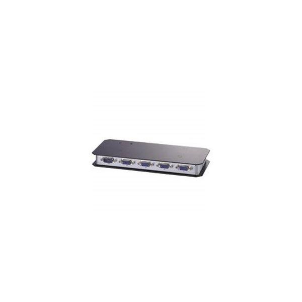 (まとめ)エレコム ディスプレイ分配器 2台分配 VSP-A2 1台【×3セット】