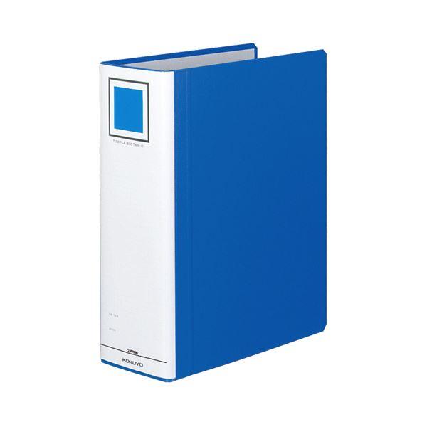 (まとめ) コクヨ チューブファイル(エコツインR) A4タテ 900枚収容 背幅105mm 青 フ-RT690B 1冊 【×30セット】