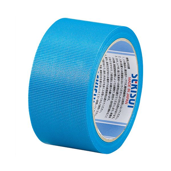 (まとめ) 積水化学 フィットライトテープ 50mm×25m 青 N738A04 1巻 【×30セット】