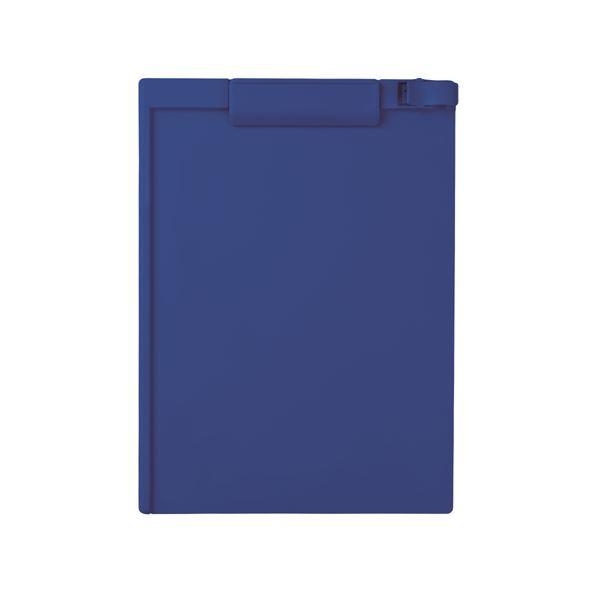 (まとめ) セキセイ クリップボード A4タテ SSS-3056P-15ネイビーブルー 1枚 【×30セット】