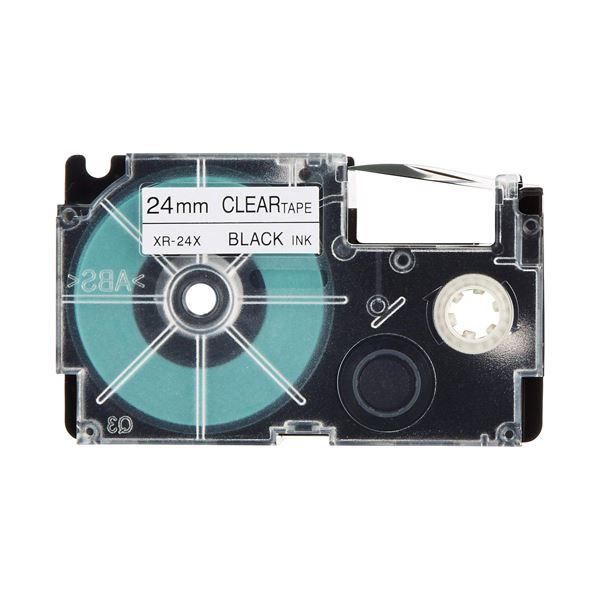 CASIO ネームランド用テープカートリッジ XR-24X-5PE