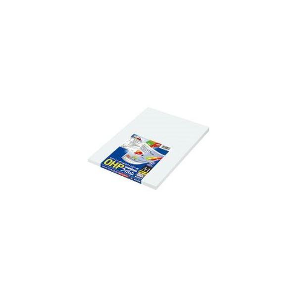 (まとめ)コクヨ OHPフィルム カラーLBP&PPC用 A4 検知マーク付 VF-1410N 1冊(50枚)【×3セット】