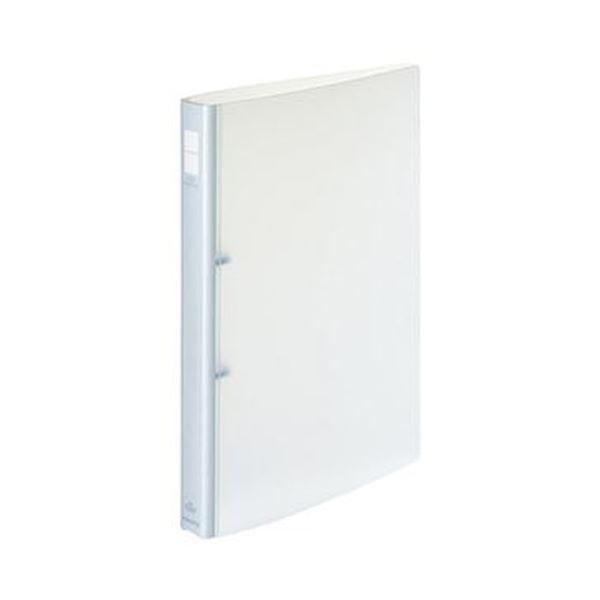 (まとめ)コクヨ ポップリングファイル A4タテ2穴 150枚収容 背幅31mm 透明 フ-P420NT 1セット(10冊)【×3セット】