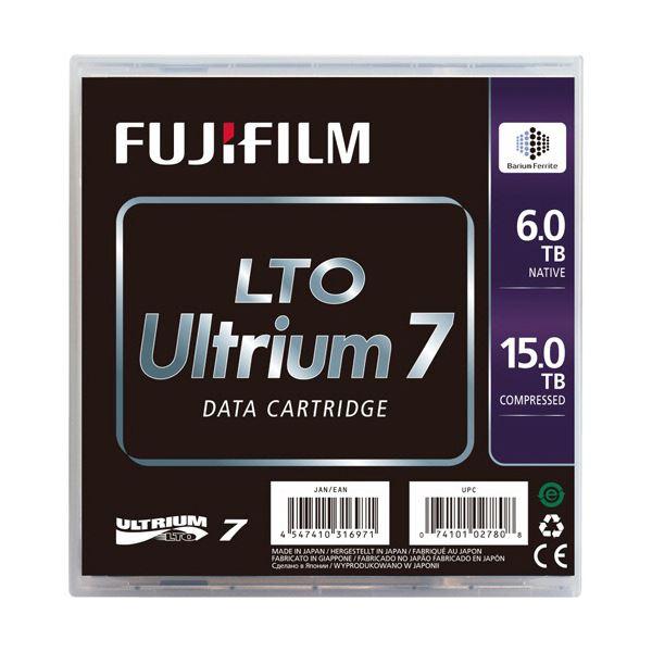 TANOSEE 富士フイルム LTOUltrium7 データカートリッジ 6.0TB/15TB 1パック(5巻)