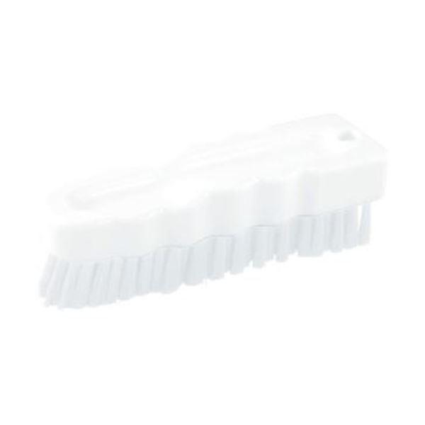 (まとめ)TRUSCOハンドブラシ(ソフトタイプ)HACCP対応 ホワイト THB-S-W 1個【×10セット】