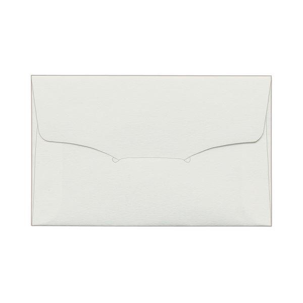 (まとめ) TANOSEE 名刺型封筒112×70mm タント 116.3g 1セット(100枚:10枚×10パック) 【×5セット】