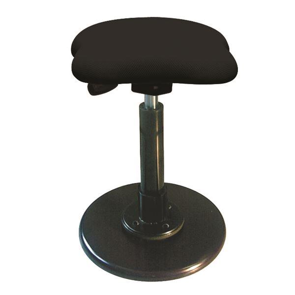 モダン スツール/丸椅子 【ブラック×ブラック】 幅33cm 日本製 スチールパイプ 『ツイストスツールラフレシア3』【代引不可】