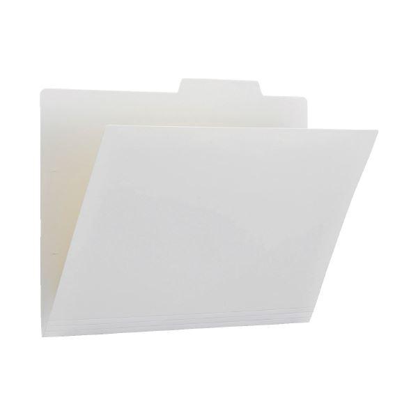 (まとめ)プラス PP個別フォルダー FL-161IF ホワイト 5枚(×50セット)